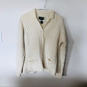 Knit cream Ralph Lauren sweater